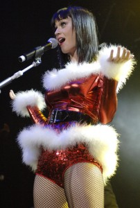 Katy Perry a Natale