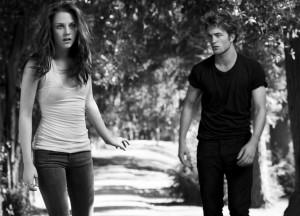 Robert Pattinson insieme a Kristen Stewart