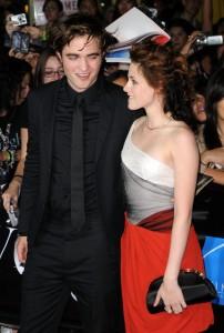 Kristen Stewart e Robert sul red carpet
