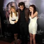Kristen Stewart e Pattinson