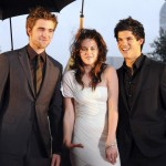 Kristen Stewart, Robert Pattinson e Taylor Lautner