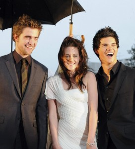 Kristen Stewart e Twilight cast