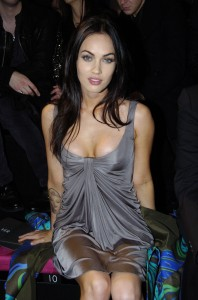 Megan Fox sfilata di Versace